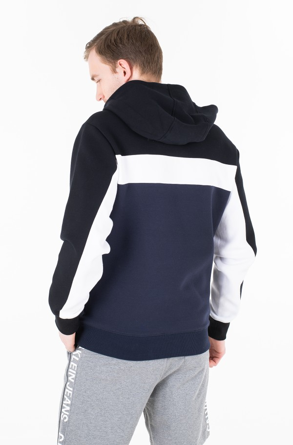 COLOR BLOCKING HOODIE-hover