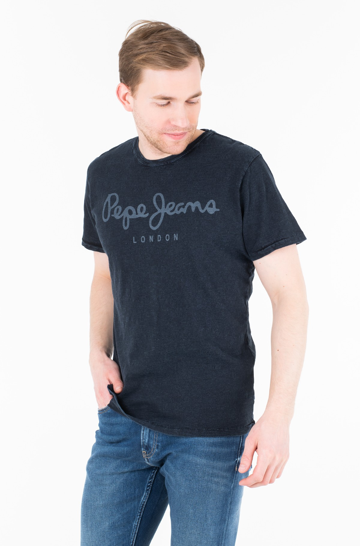 Marškinėliai ESSENTIAL DENIM TEE/PM503992-full-1