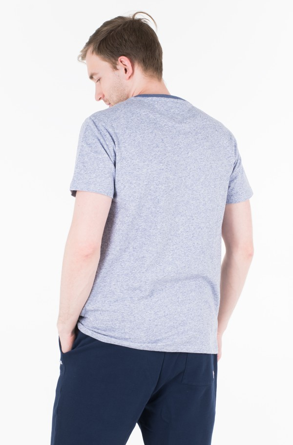TJM CONTRAST NECK TEE-hover