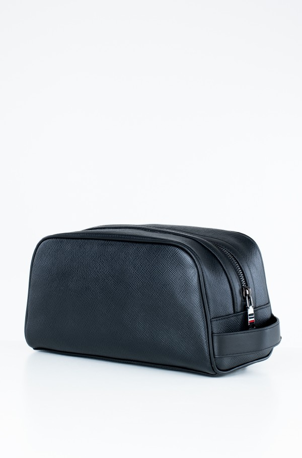 MB CAPSULE LEATHER WASHBAG-hover