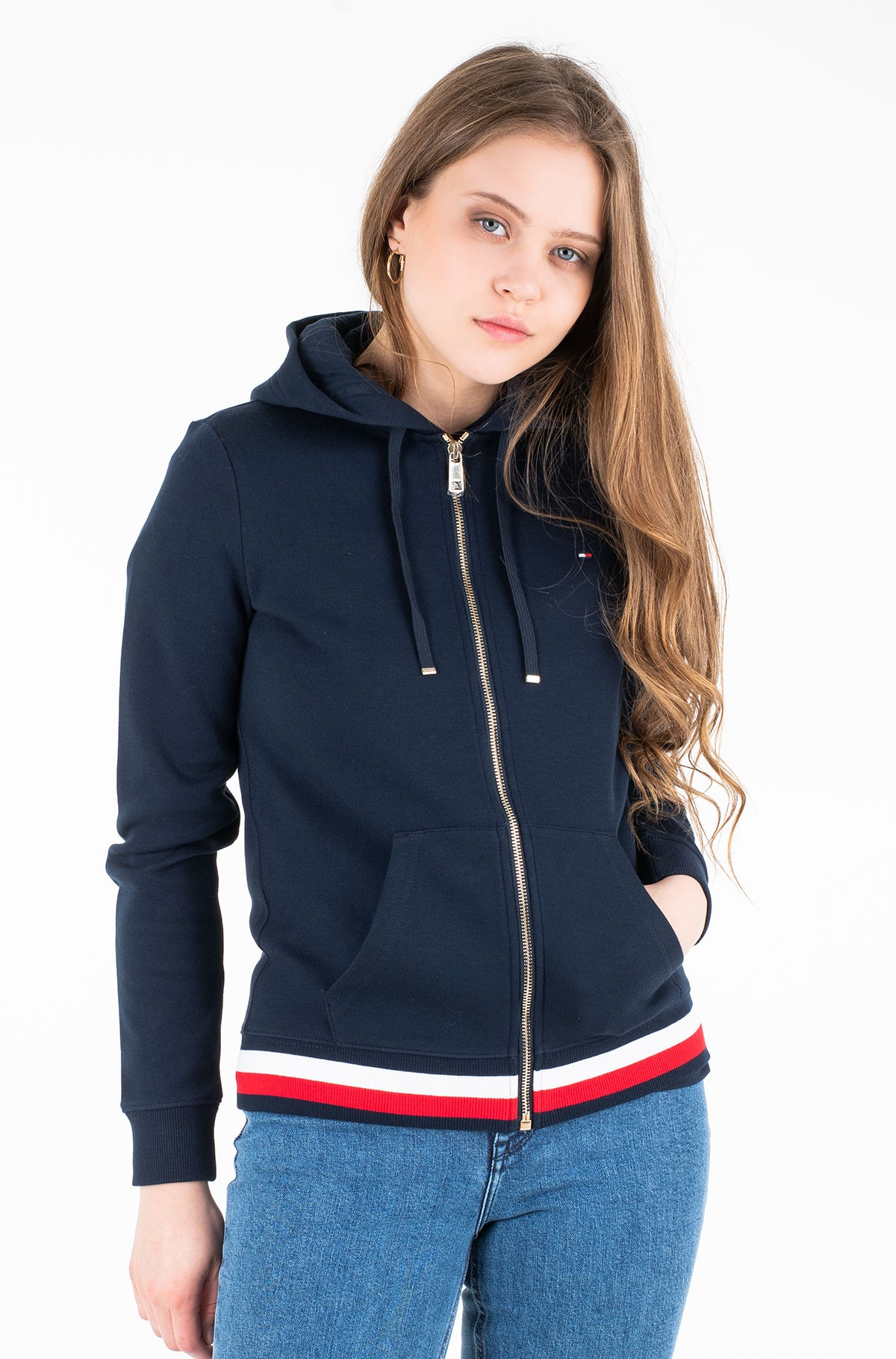 Džemperis HERITAGE ZIP-THROUGH HOODIE-full-1