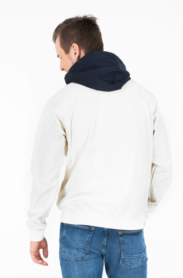 SOFTSHELL HOODED JACKET-hover