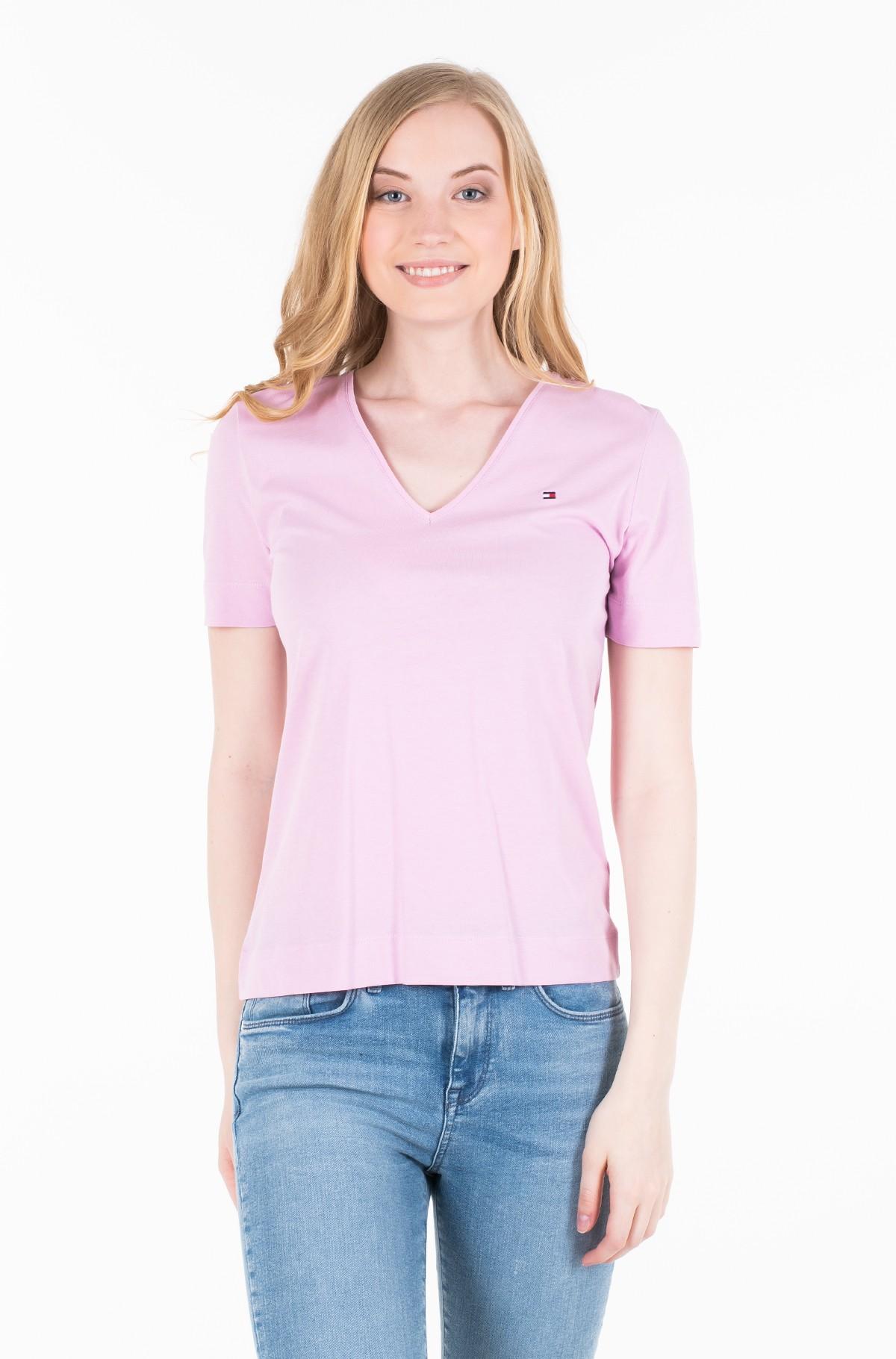 T-shirt TESSA V-NK TEE SS-full-1