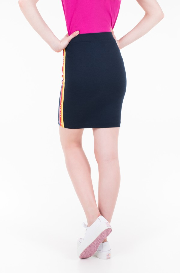 TJW SOLID BODYCON SKIRT-hover