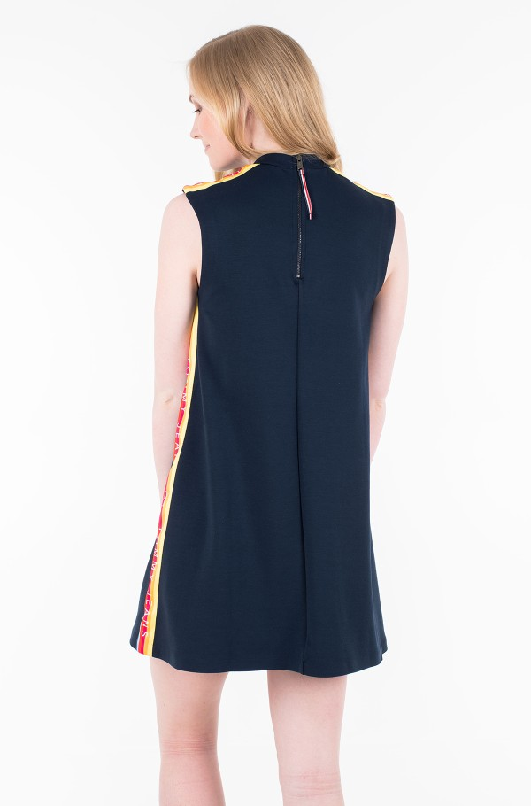 TJW A-LINE SOLID TAPE DRESS-hover