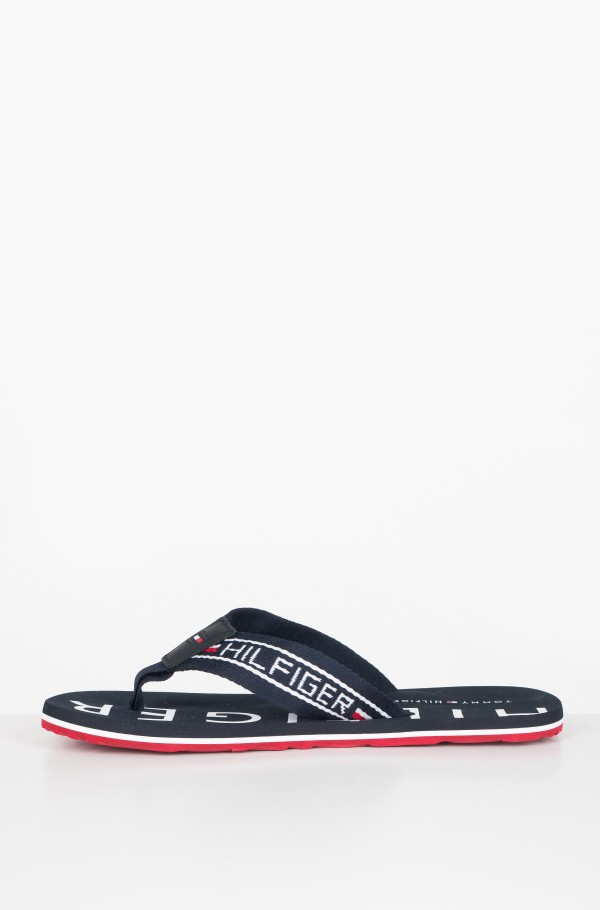 SEASONAL STRIPE BEACH SANDAL-hover