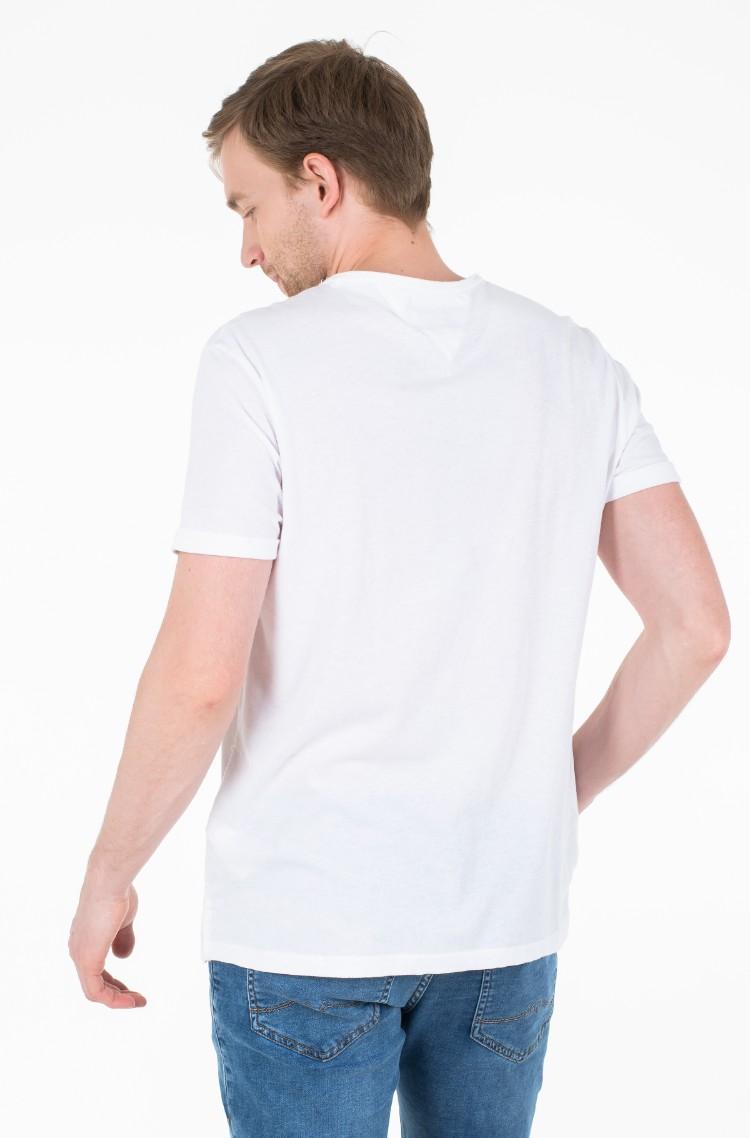 237af828b White T-shirt Tjm Modern Jaspe Tee Tommy Jeans, Mens Short-sleeved ...