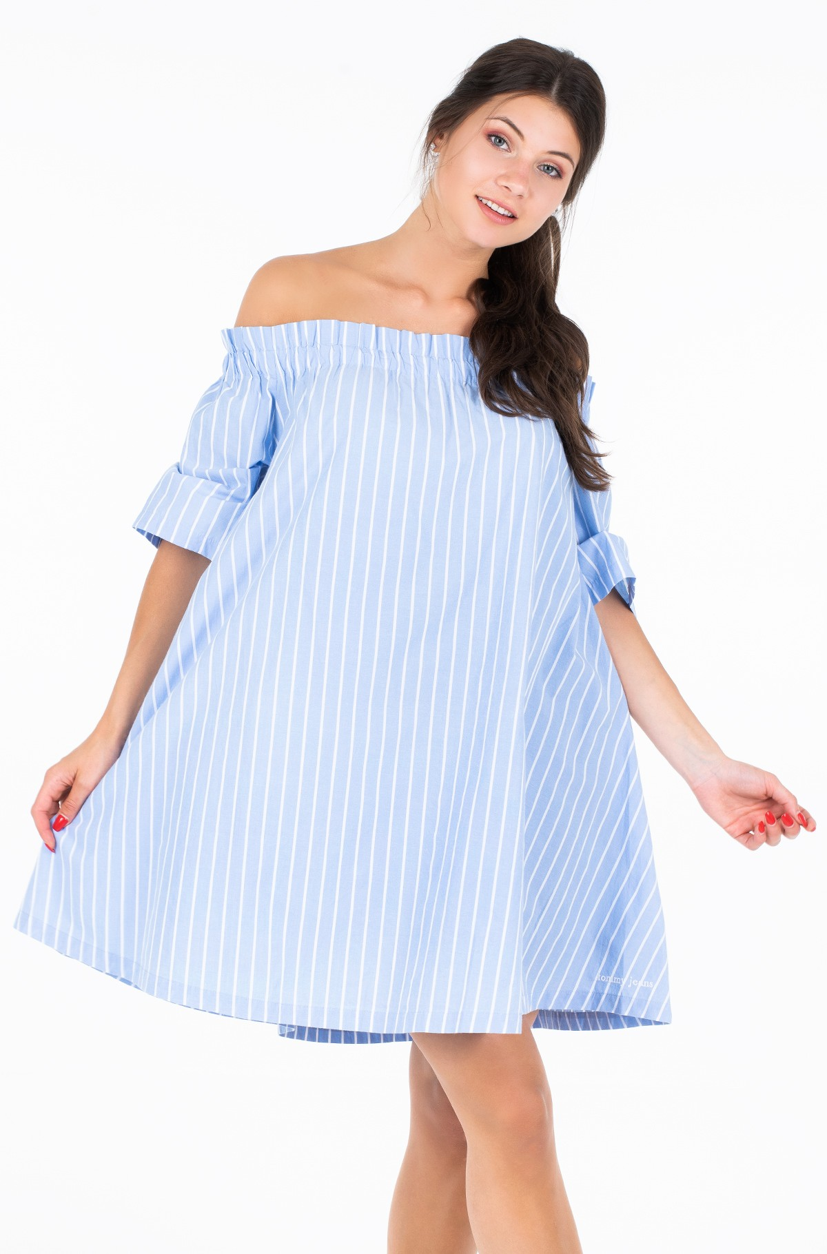 Kleit TJW SUMMER OFF SHOULDER DRESS-full-1