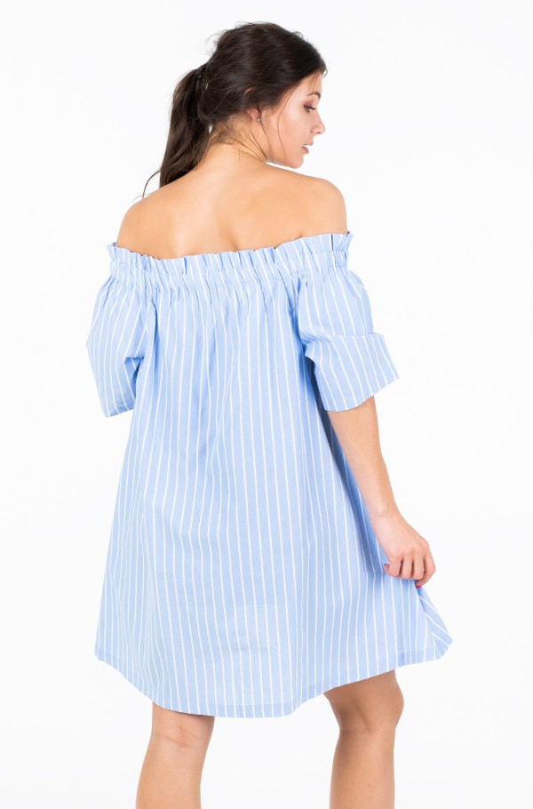 TJW SUMMER OFF SHOULDER DRESS-hover