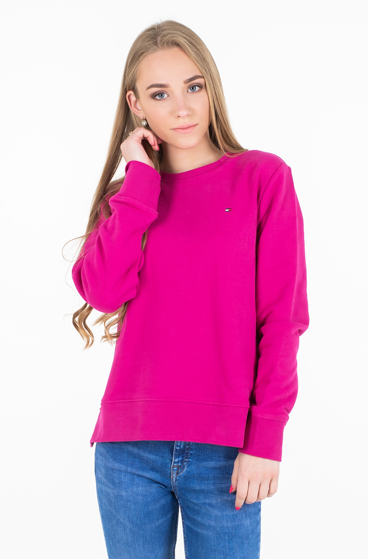 Džemperis CLAIRE SWEATSHIRT C-NK LS	-full-1