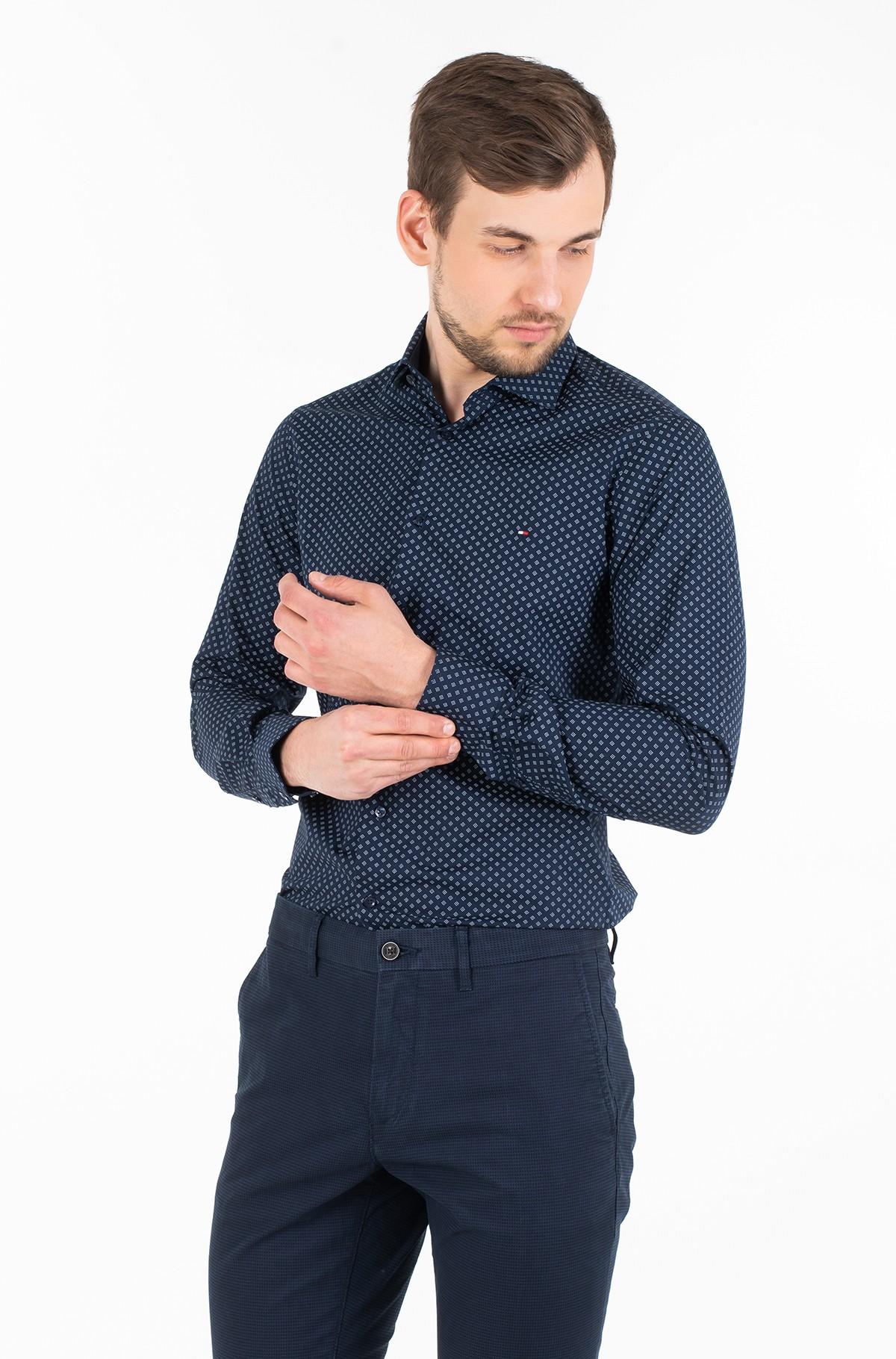 Marškiniai PRINT STRETCH CLASSIC SLIM SHIRT-full-1