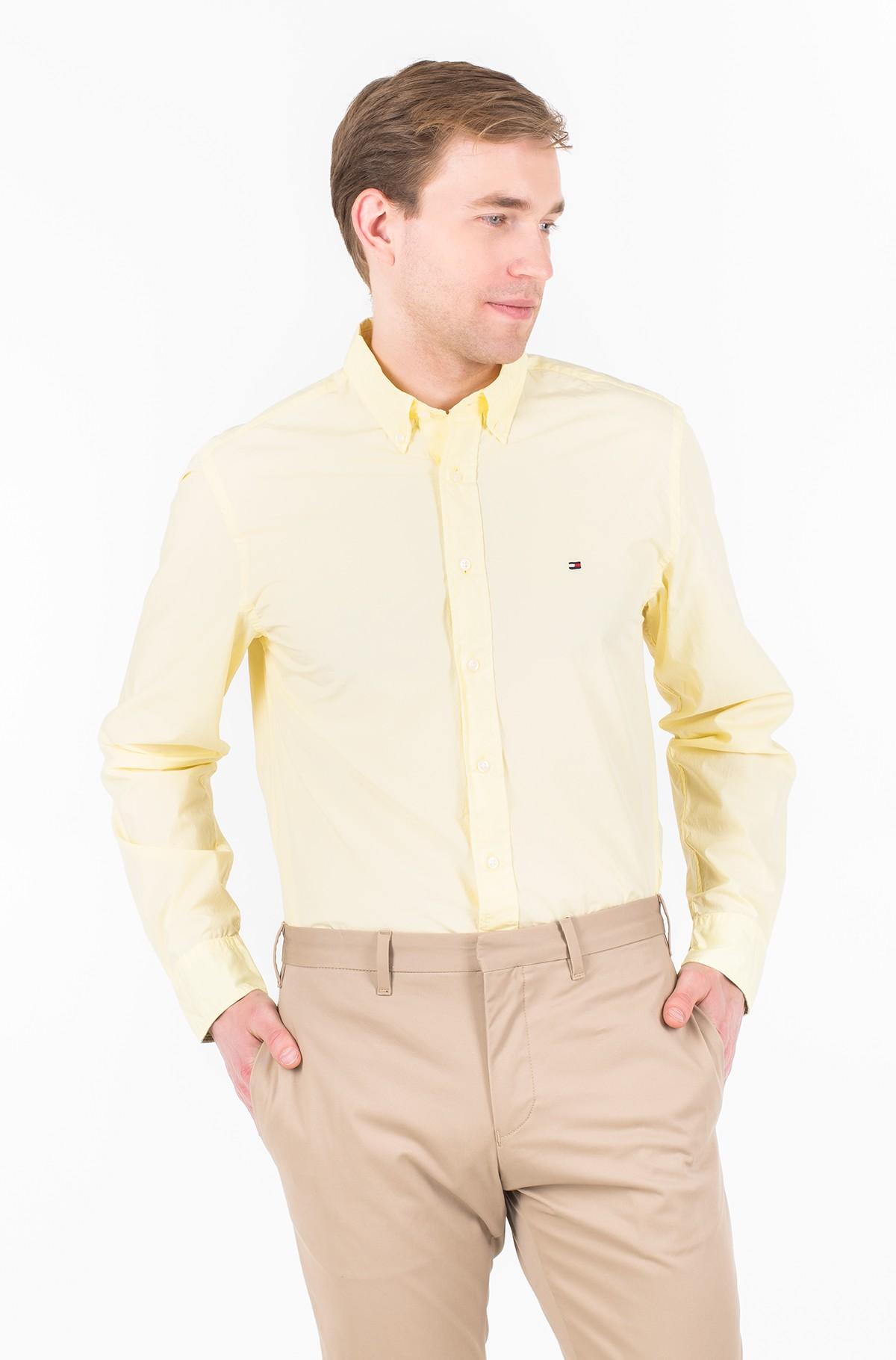 Marškiniai GARMENT DYED POPLIN SHIRT-full-1
