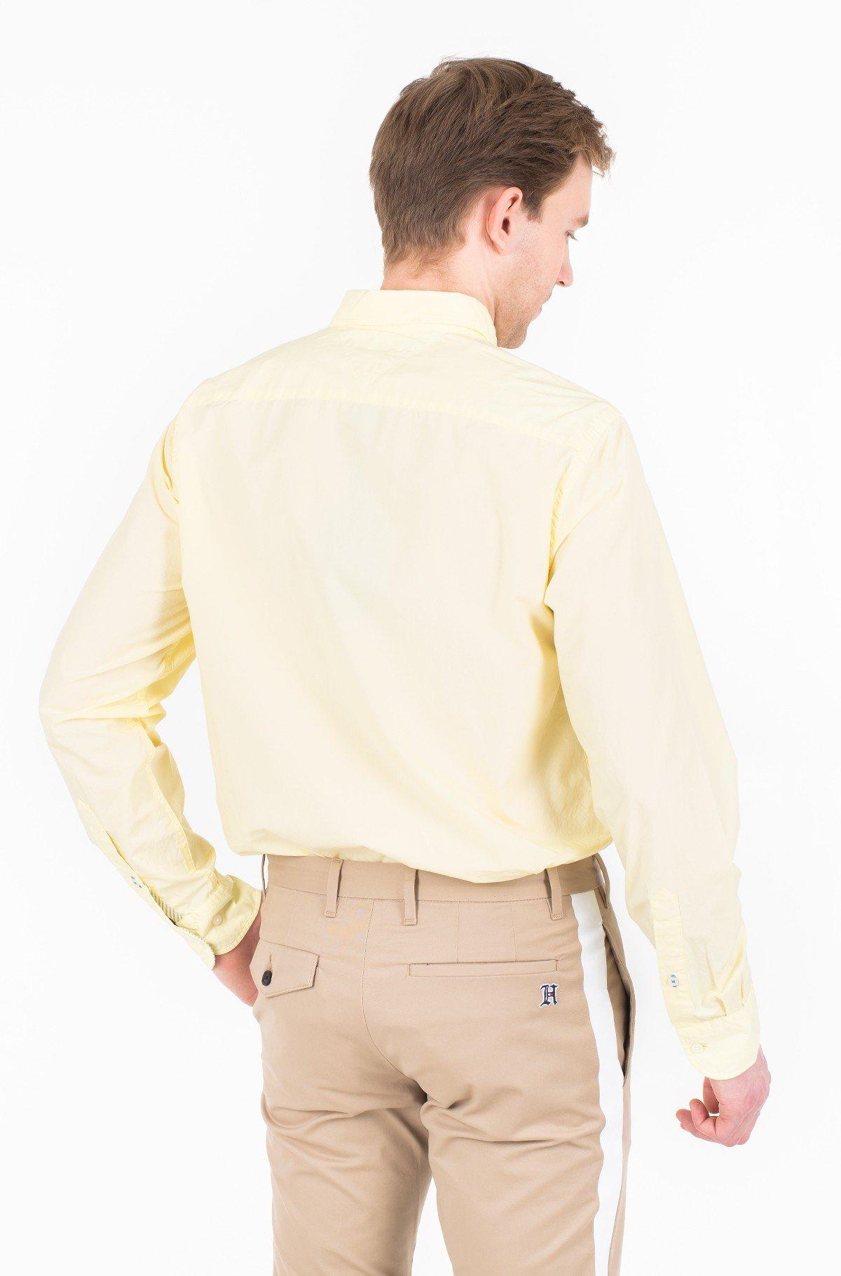 Marškiniai GARMENT DYED POPLIN SHIRT-full-2