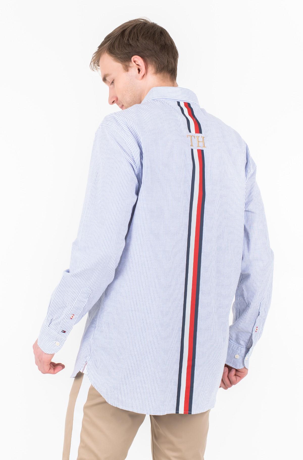 Marškiniai ICON OVERSIZED STRIPE SHIRT-full-2