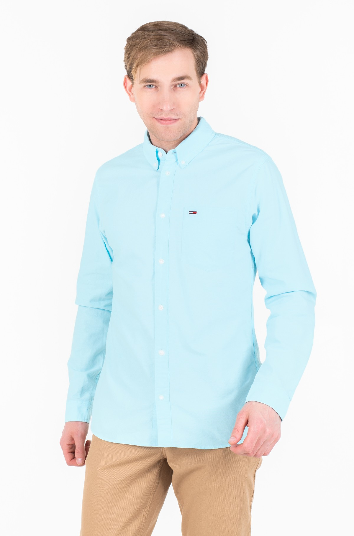 Marškiniai TJM CLASSICS OXFORD SHIRT-full-1