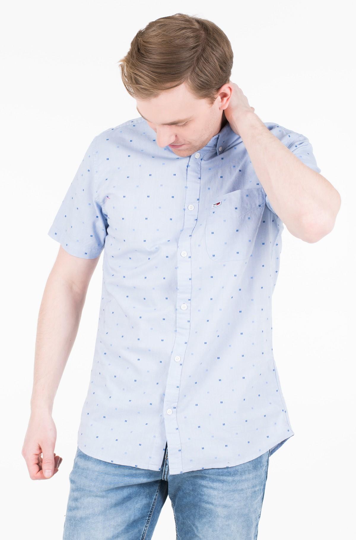 Marškiniai su trumpomis rankovėmis TJM SHORT SLEEVE DOBBY SHIRT-full-1