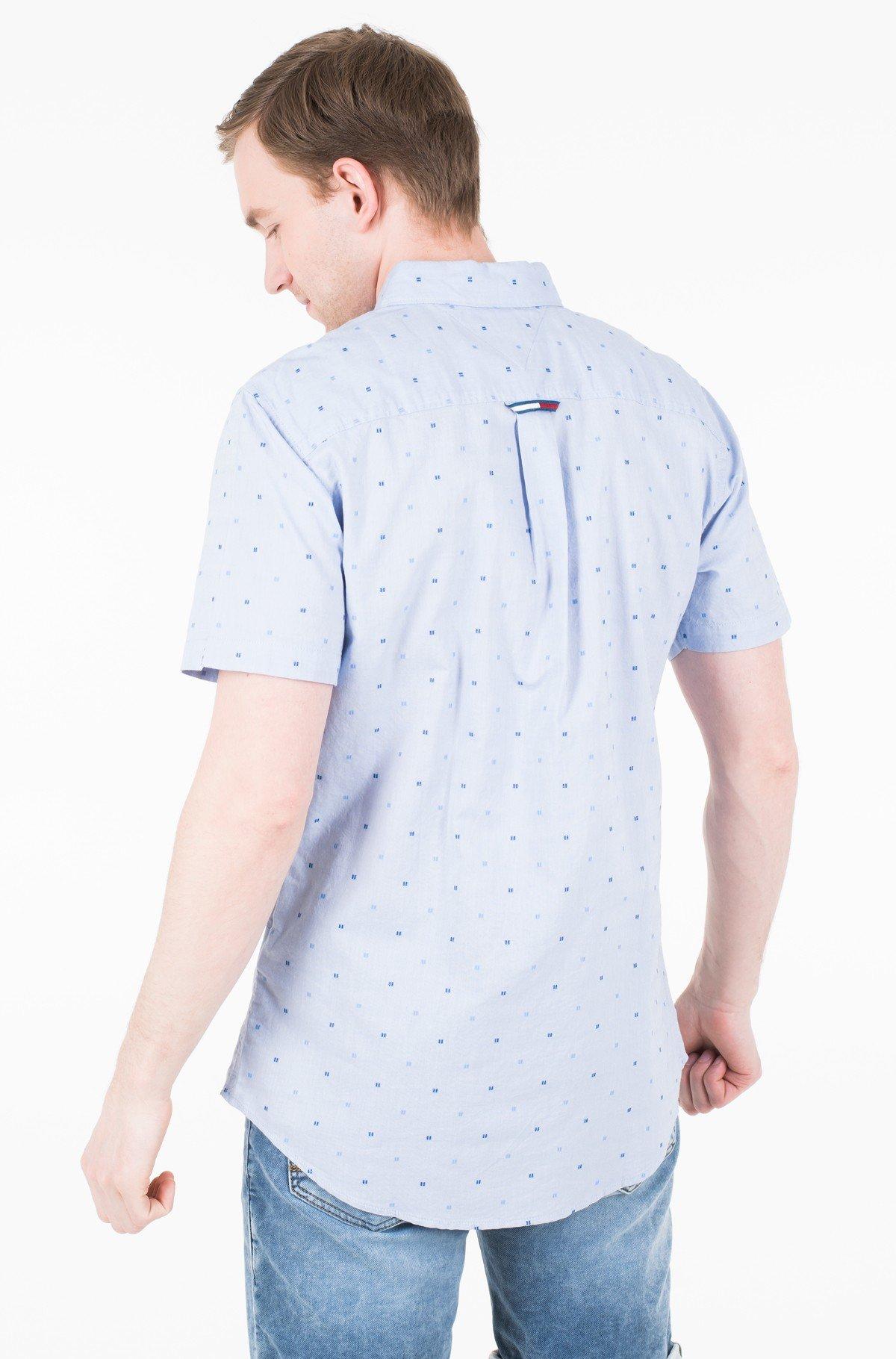 Marškiniai su trumpomis rankovėmis TJM SHORT SLEEVE DOBBY SHIRT-full-2