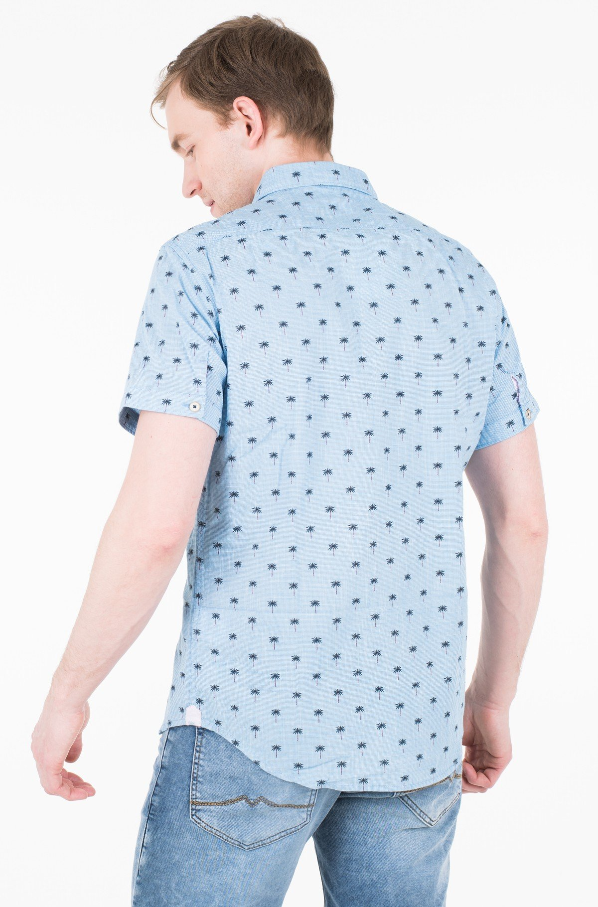 Marškiniai su trumpomis rankovėmis TRACE/PM305851-full-2