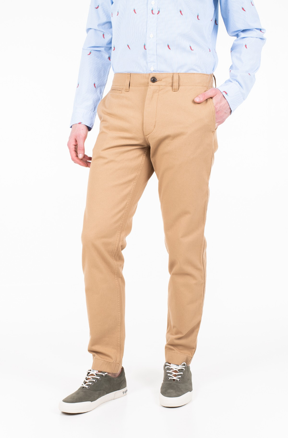 Püksid RECYCLED COTTON CHINO-full-1