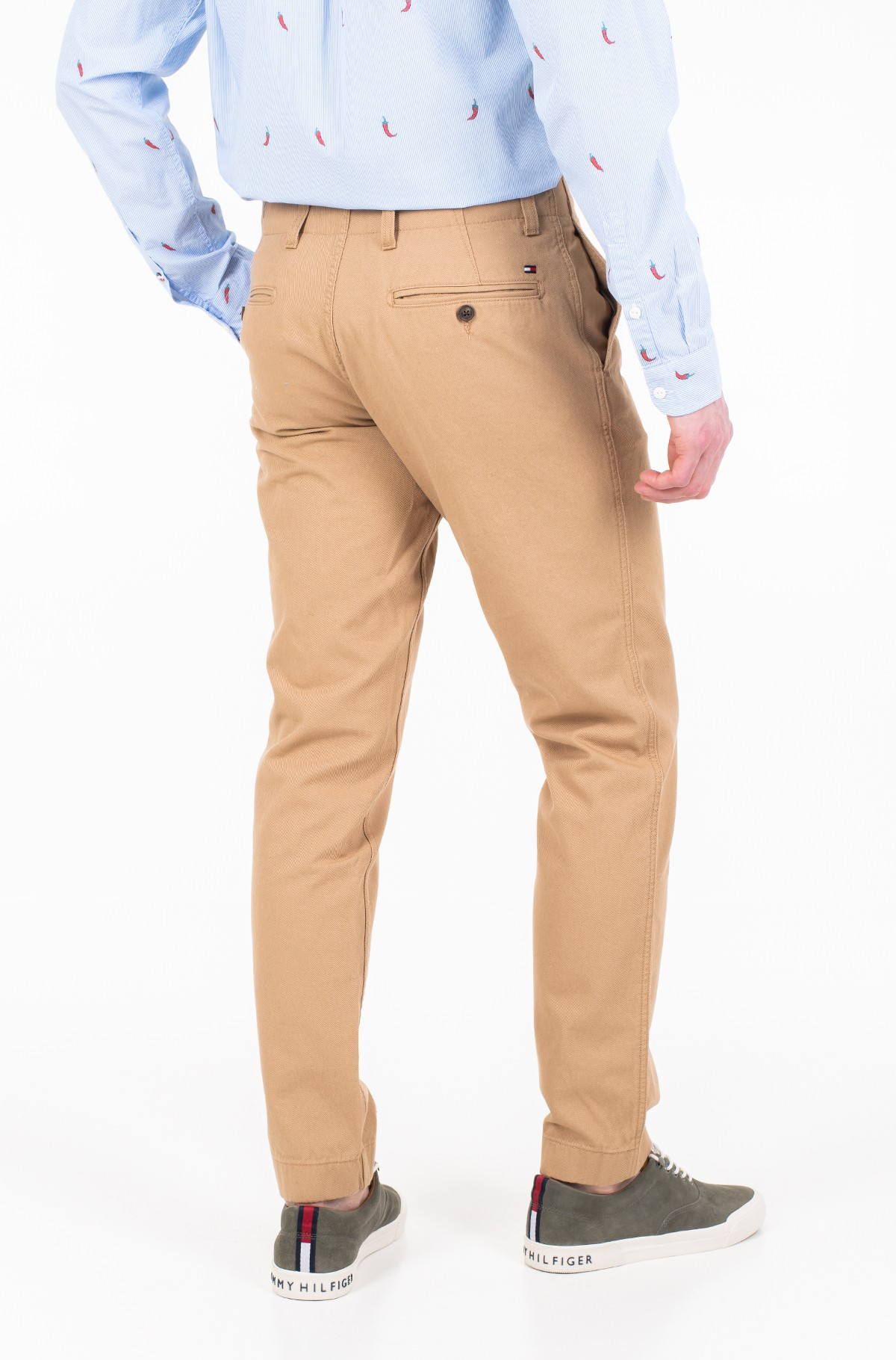 Püksid RECYCLED COTTON CHINO-full-2