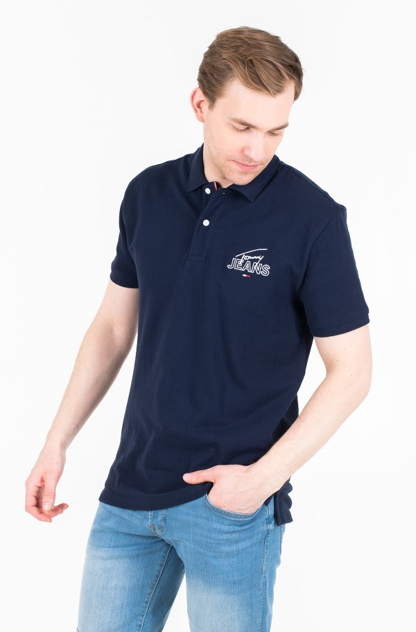 TJM SOLID GRAPHIC POLO