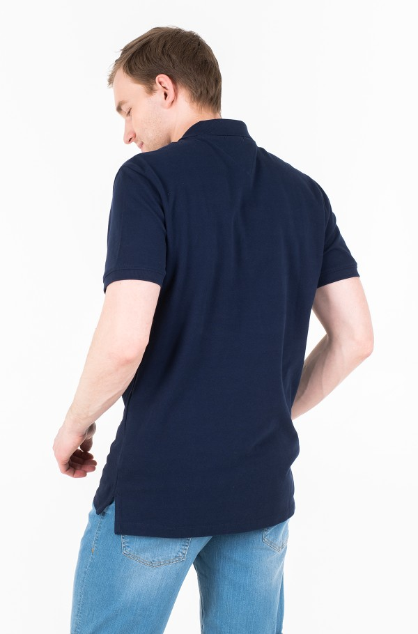 TJM SOLID GRAPHIC POLO-hover
