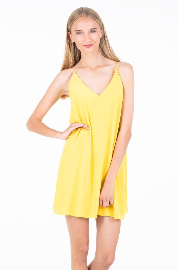 207fe1330fb yellow2 Dress FLARED SLIP DRESS Calvin Klein