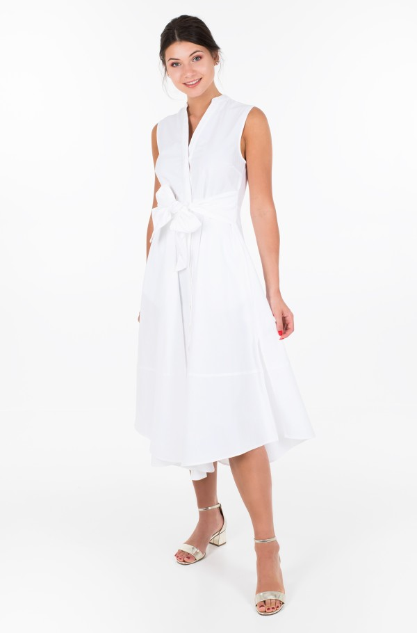 ZENDAYA SLEEVELESS SHIRT DRESS