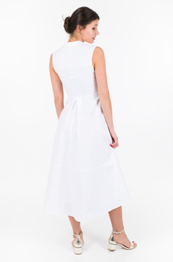 ZENDAYA SLEEVELESS SHIRT DRESS-hover