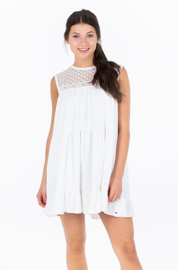 TJW SUMMER SLEEVELESS LACE DRESS