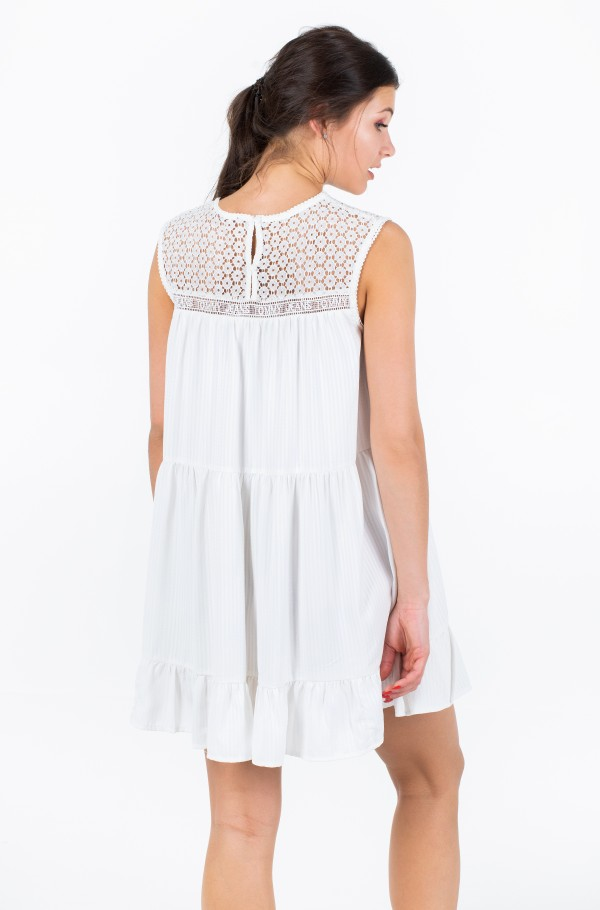 TJW SUMMER SLEEVELESS LACE DRESS-hover