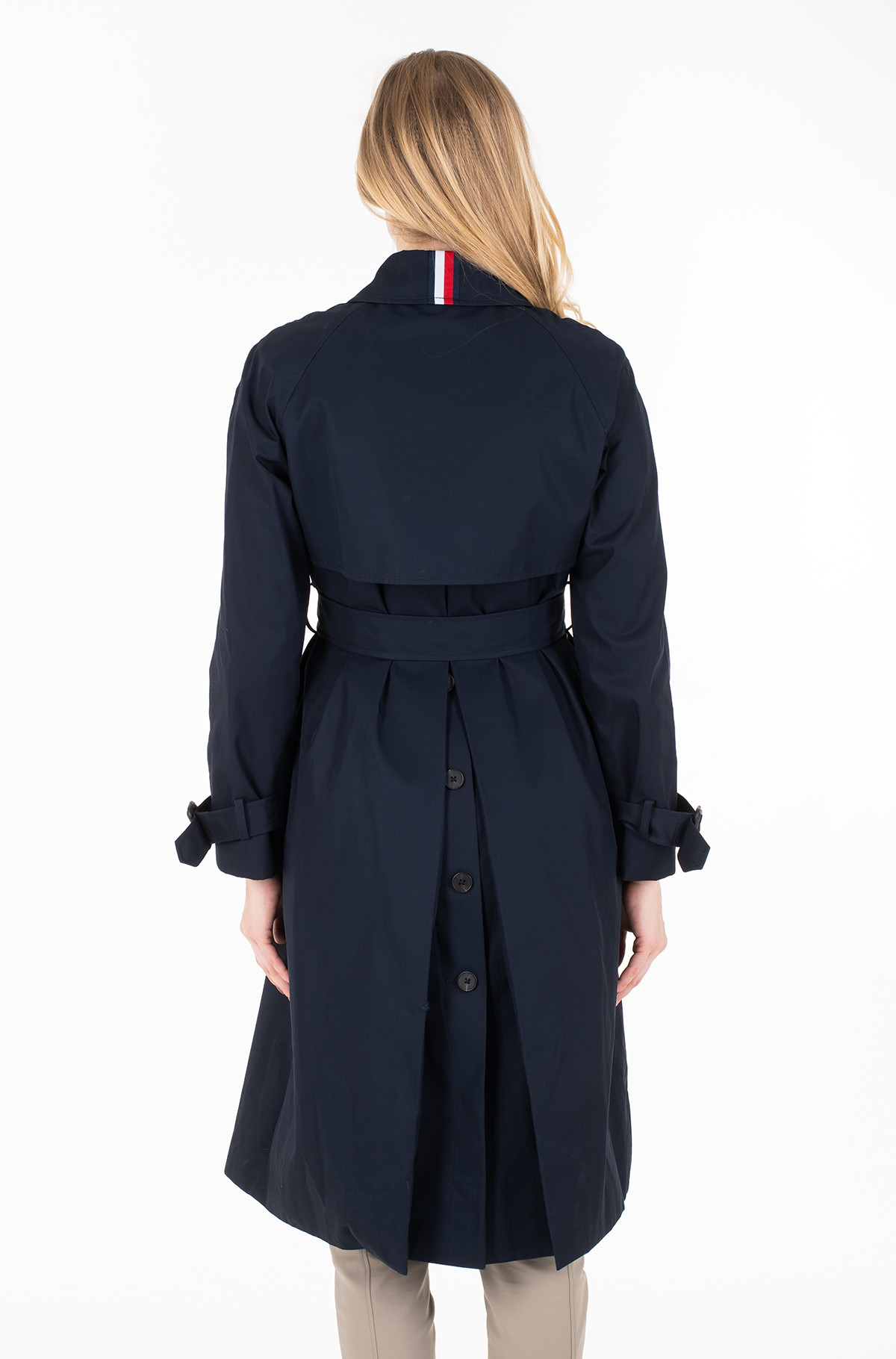 Coat TH ESSENTIAL SB TRENCH	-full-2