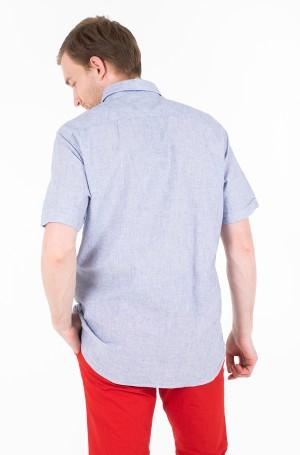 Marškiniai su trumpomis rankovėmis COTTON LINEN SHIRT S/S-2