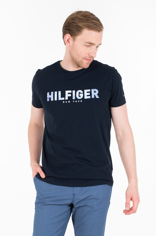 HILFIGER APPLIQUE TEE