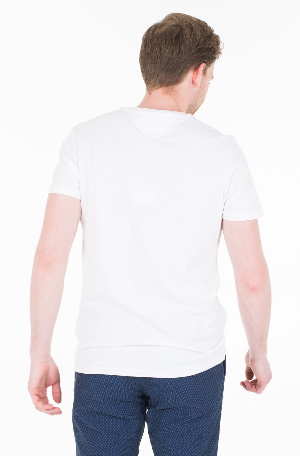 TJM CONTOURED CORP LOGO TEE-hover