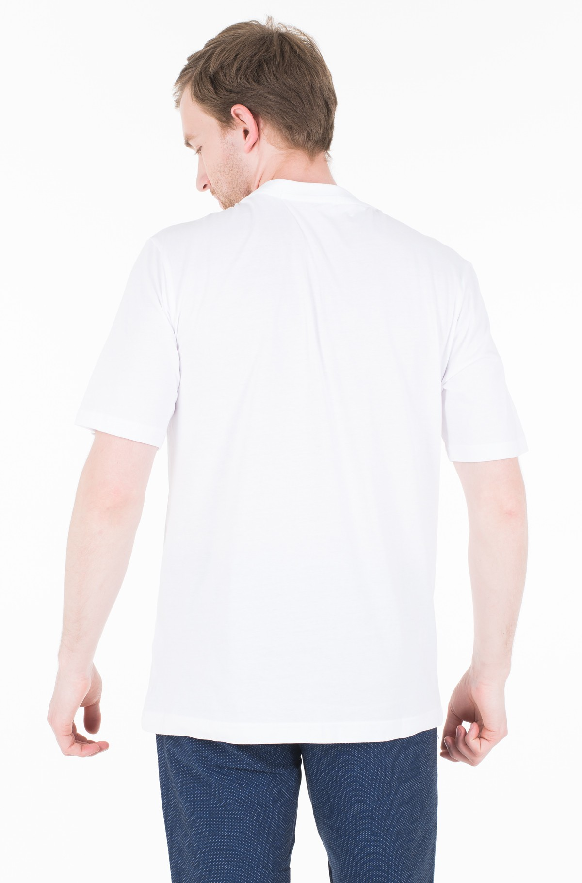 Marškinėliai CHEST STRIPE INSTIT SLIM SS-full-2