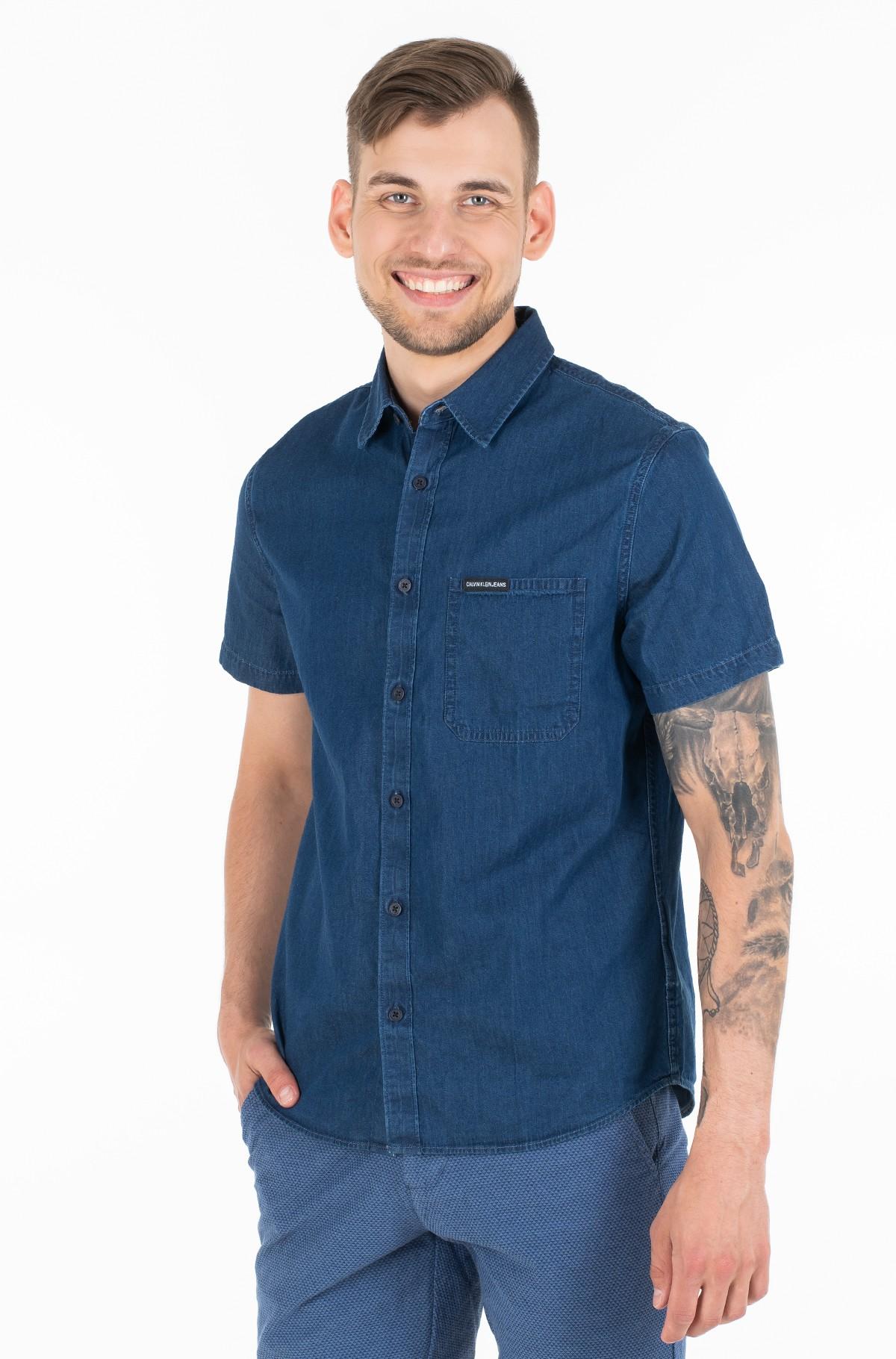Marškiniai su trumpomis rankovėmis INDIGO INSTIT POCKET REG SS-full-1