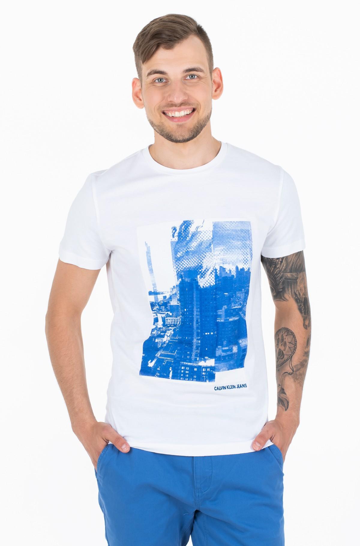 Marškinėliai LANDSCAPE GRAPHIC SLIM SS TEE-full-1