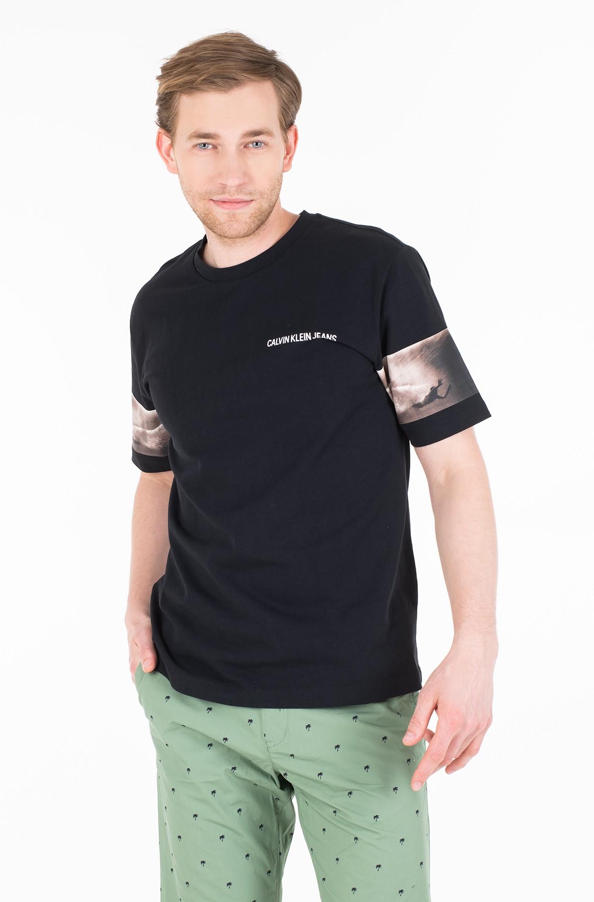 Marškinėliai PHOTOGRAPHIC SLEEVES REG SS-full-1