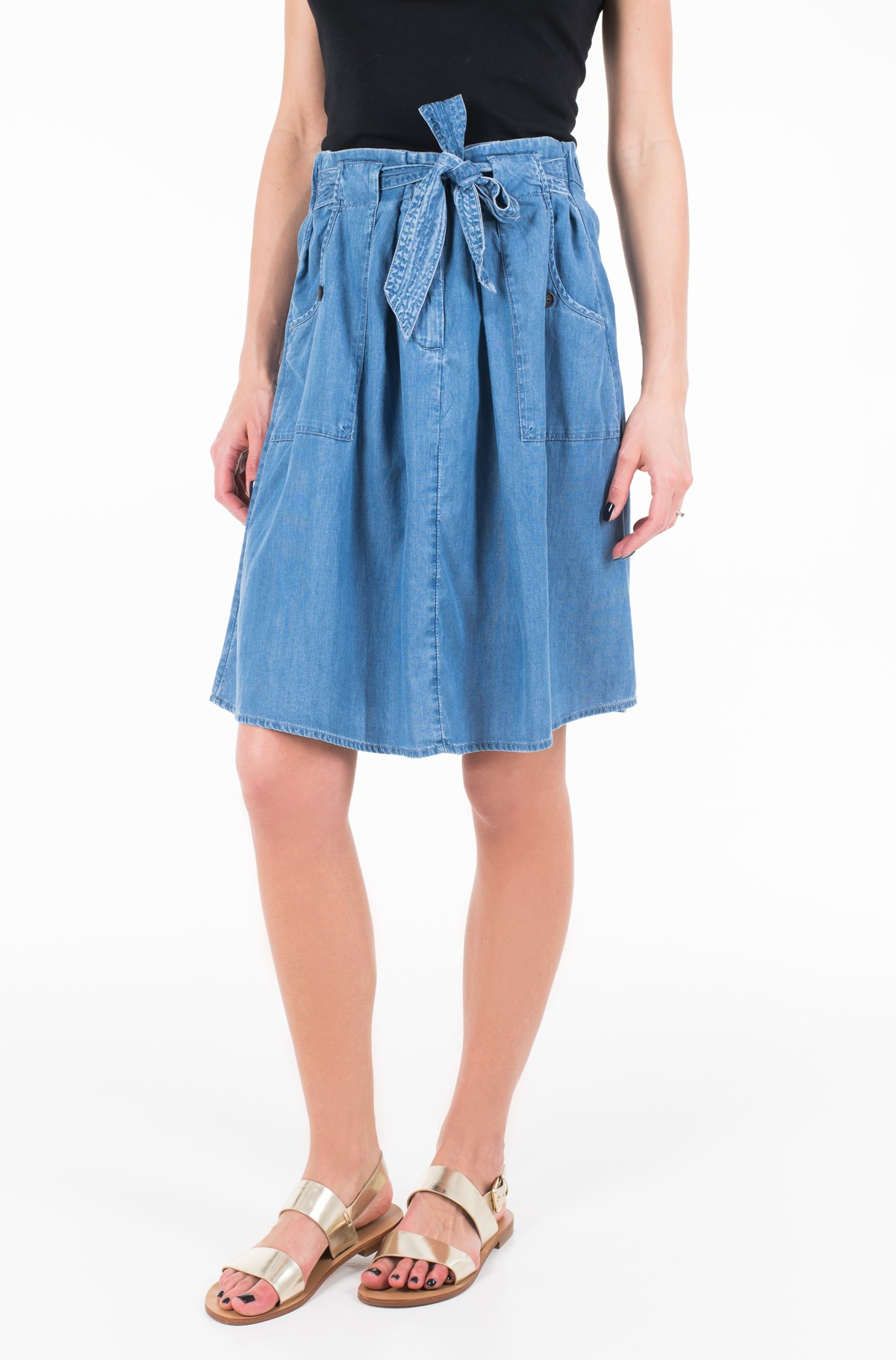 Denim skirt  1009890	-full-1