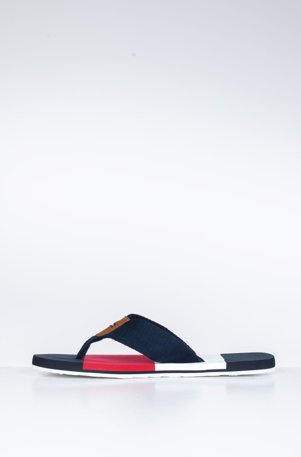 COLOR BLOCK BEACH SANDAL-hover