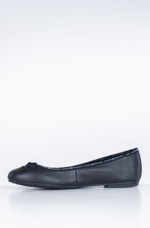 Balerinos LEATHER BALLERINA TOMMY BRANDING-2
