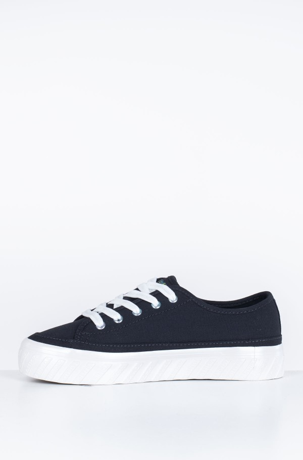 OUTSOLE DETAIL FLATFORM SNEAKER-hover