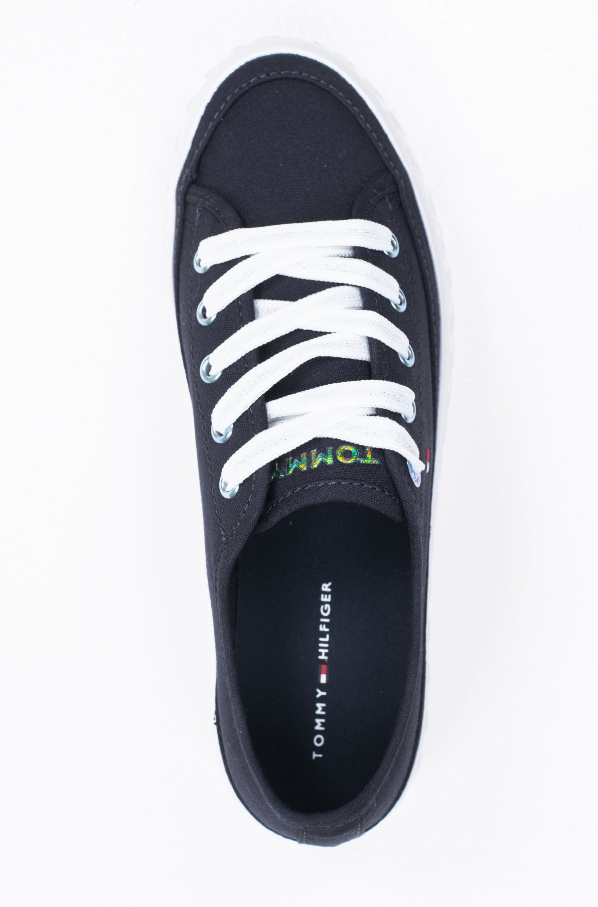 Casual shoes OUTSOLE DETAIL FLATFORM SNEAKER-full-3
