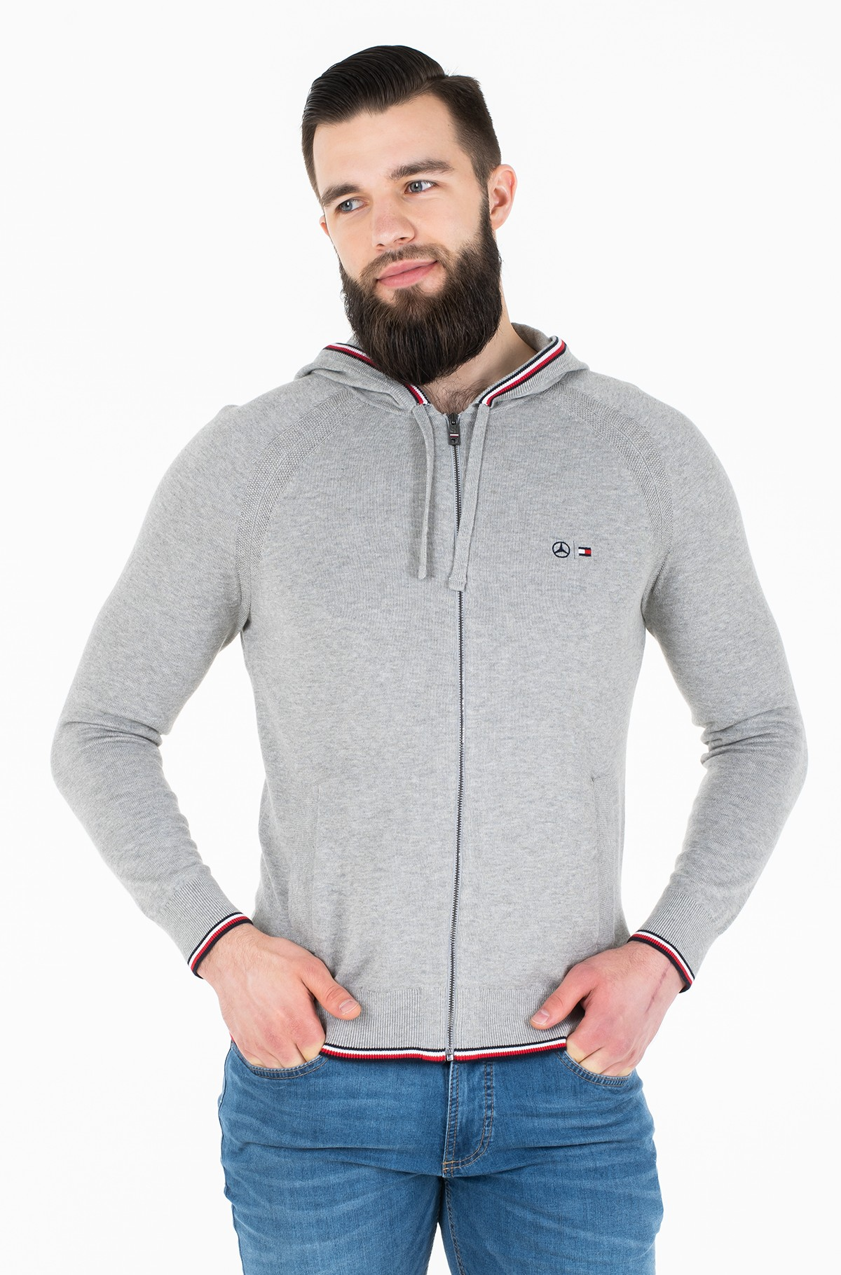 Kardigan 2 MB ZIP THROUGH HOODY-full-1