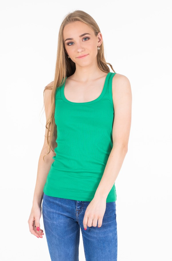 TH ESSENTIAL SKINNY RIB TANK TOP