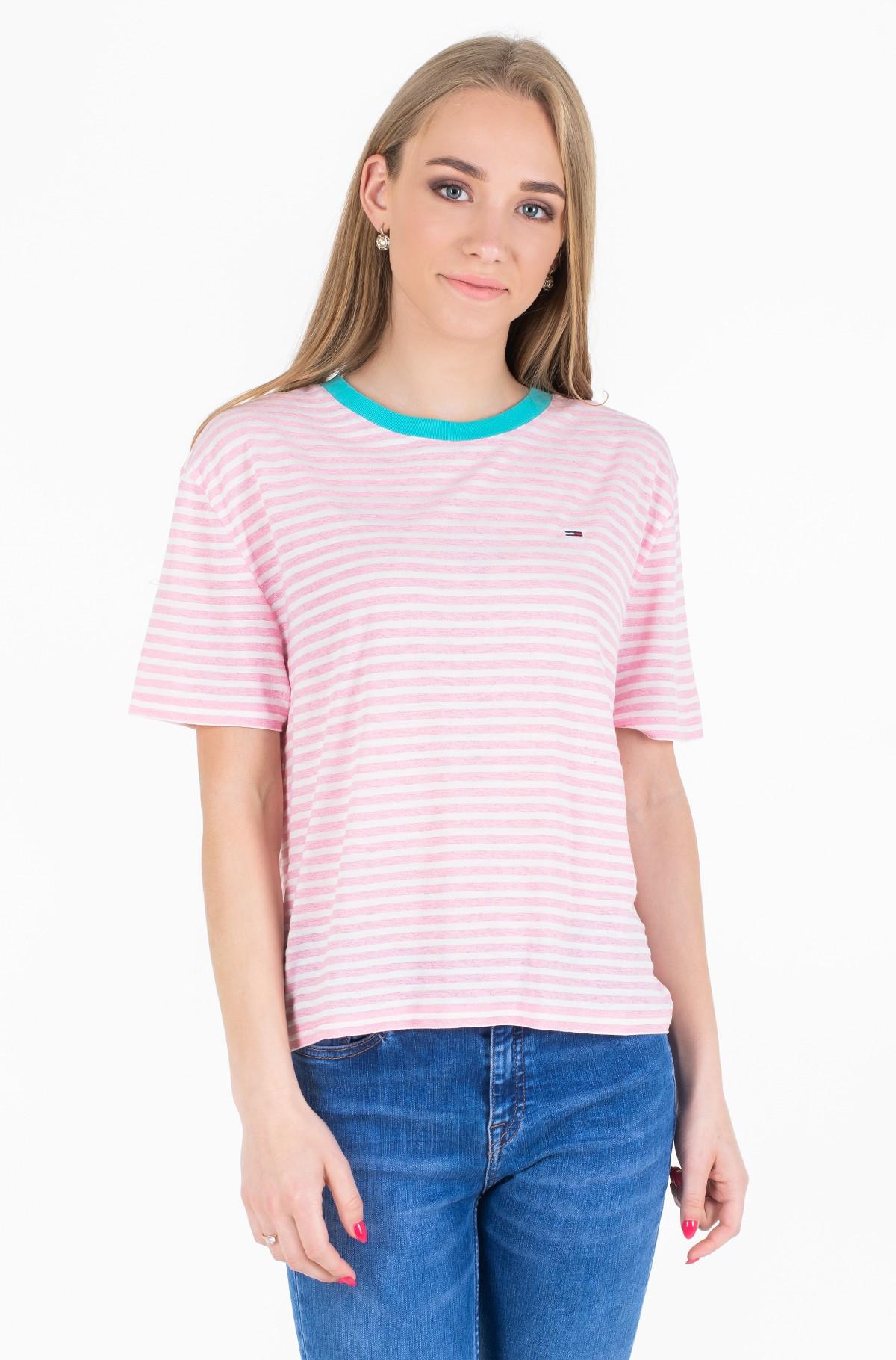 Marškinėliai TJW SUMMER CONTRAST RIB TEE-full-1