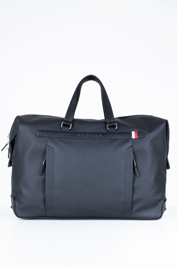 COATED CANVAS DUFFLE