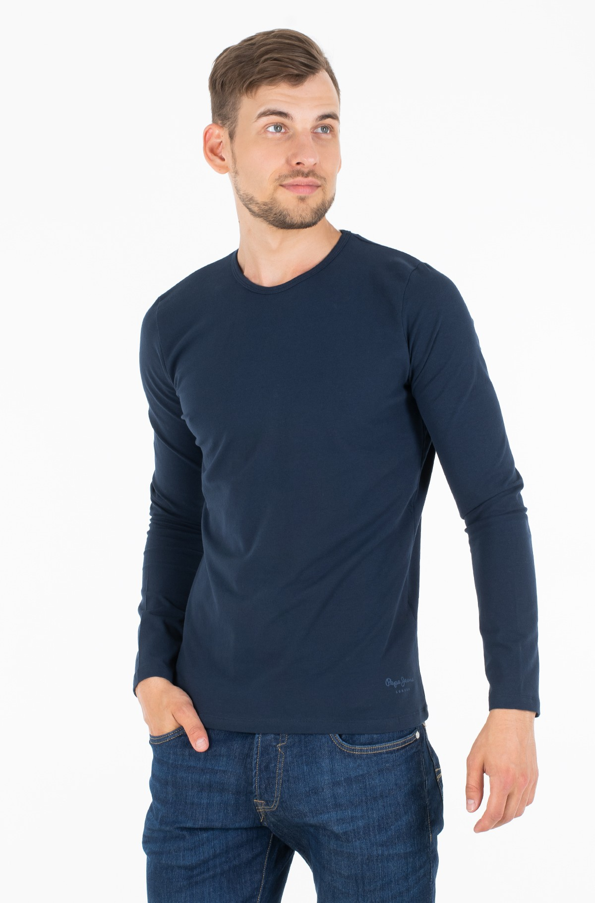 Long sleeved t-shirt ORIGINAL BASIC L/S/PM503803	-full-1