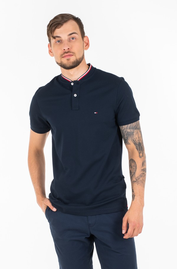 BASEBALL COLLAR SLIM POLO